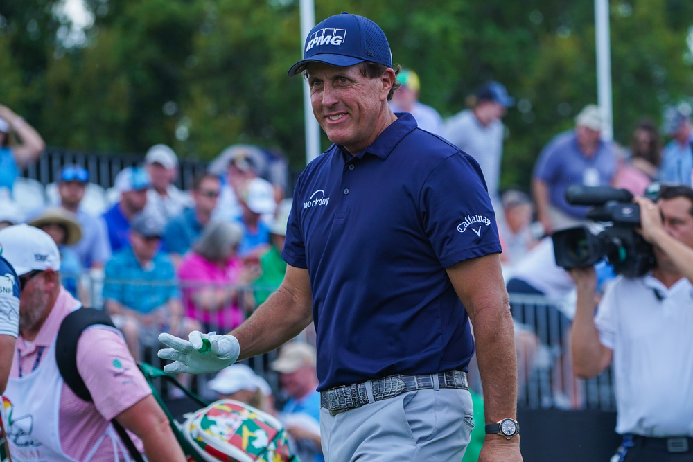 Phil Mickelson during the 2020 Arnold Palmer invitational First